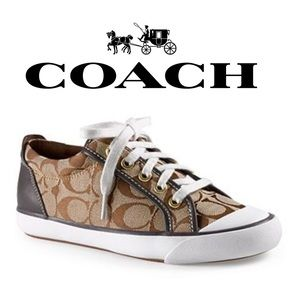 COACH | Barrett Sneaker (Q3132) in Khaki/Chestnut